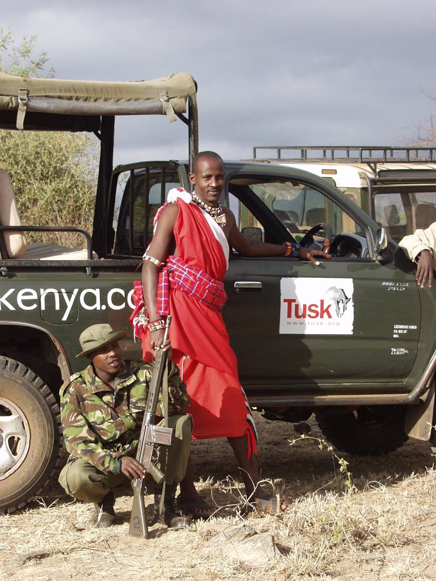 community helps with tusk trust patrol community conservation